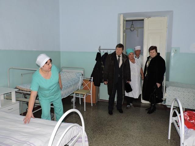 dscn7026 В Измаильской ЦРБ обновили мебель и закупили новое постельное белье