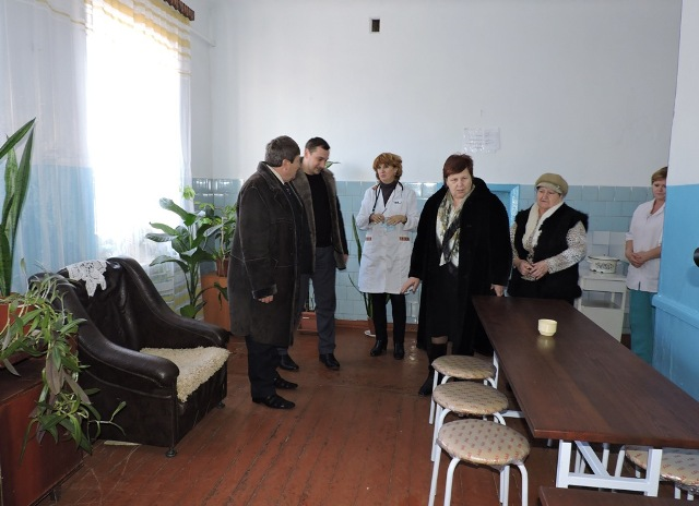 В Измаильской ЦРБ обновили мебель и закупили новое постельное белье