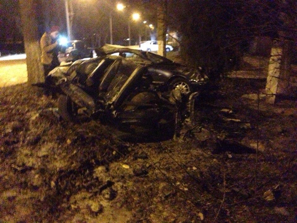 ДТП в Измаиле: Mersedes разорвало на части (фото)