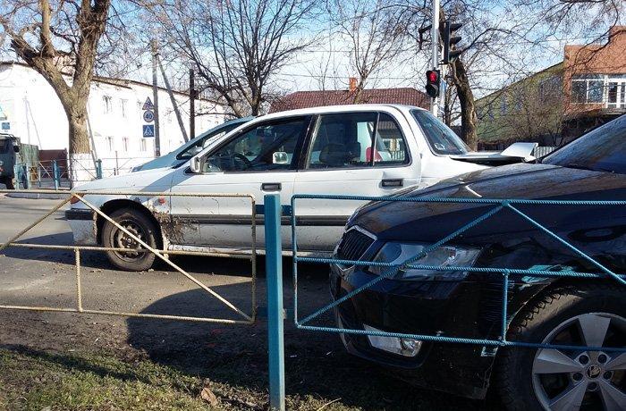 Измаил: очередное ДТП из-за несоблюдения дистанции (фото)