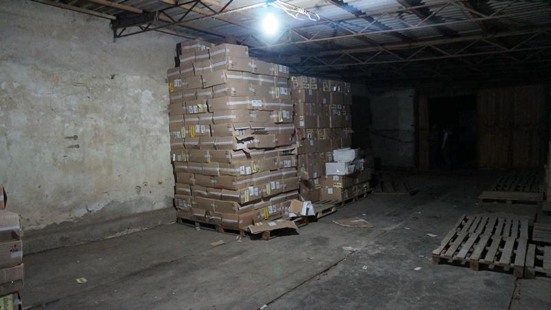 DSC09749 Пограничники разоблачили крупные партии контрабандных сигарет на сумму 7 млн. грн.