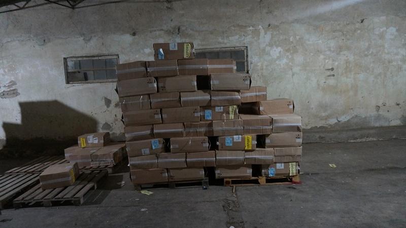 DSC09750 Пограничники разоблачили крупные партии контрабандных сигарет на сумму 7 млн. грн.