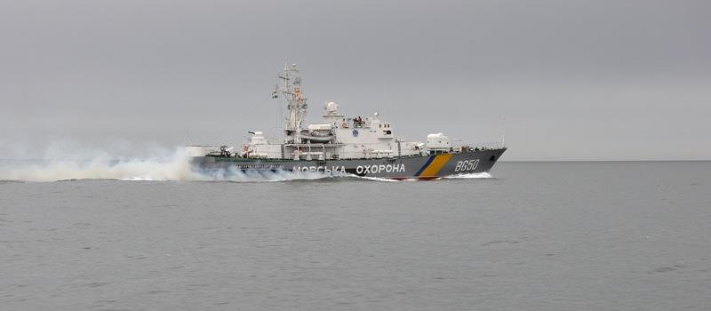 На острове Змеиный прошли совместные учения измаильских пограничников и ВМС Украины (фото)