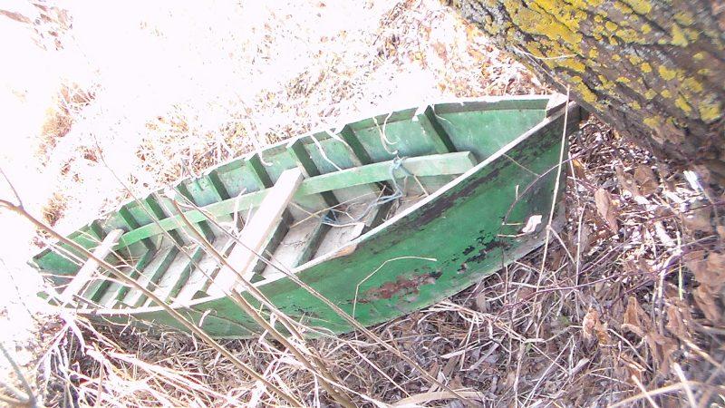 В Килийском районе пограничники обнаружили браконьерские лодки и сети
