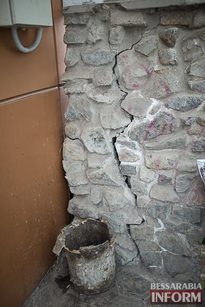 В Измаиле может образоваться новый провал (фото)
