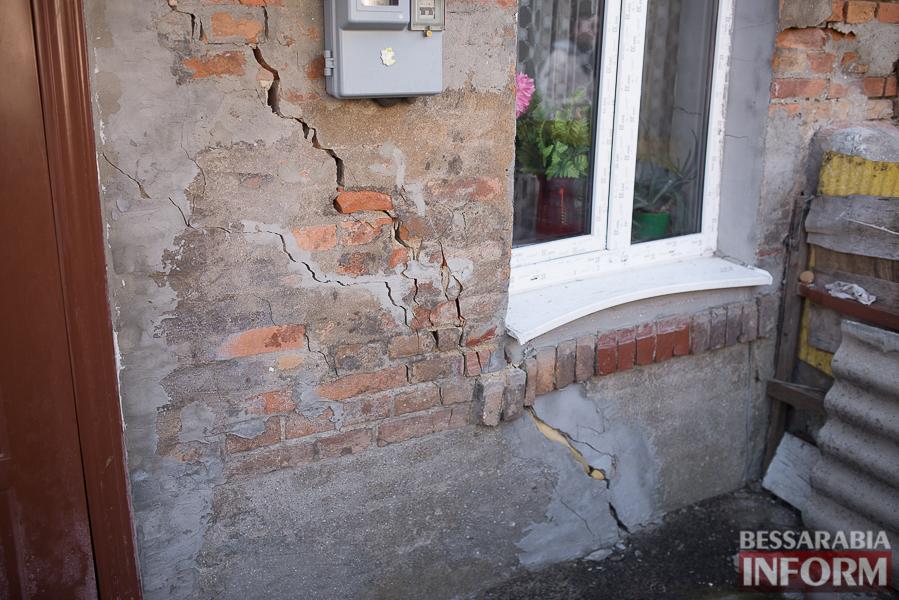 SME_8005 Измаил: аварийный дом в центре города может заживо похоронить двух пенсионеров