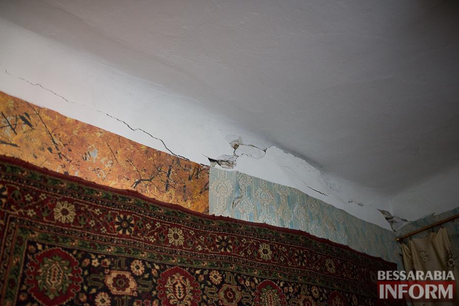 SME_8015 Измаил: аварийный дом в центре города может заживо похоронить двух пенсионеров