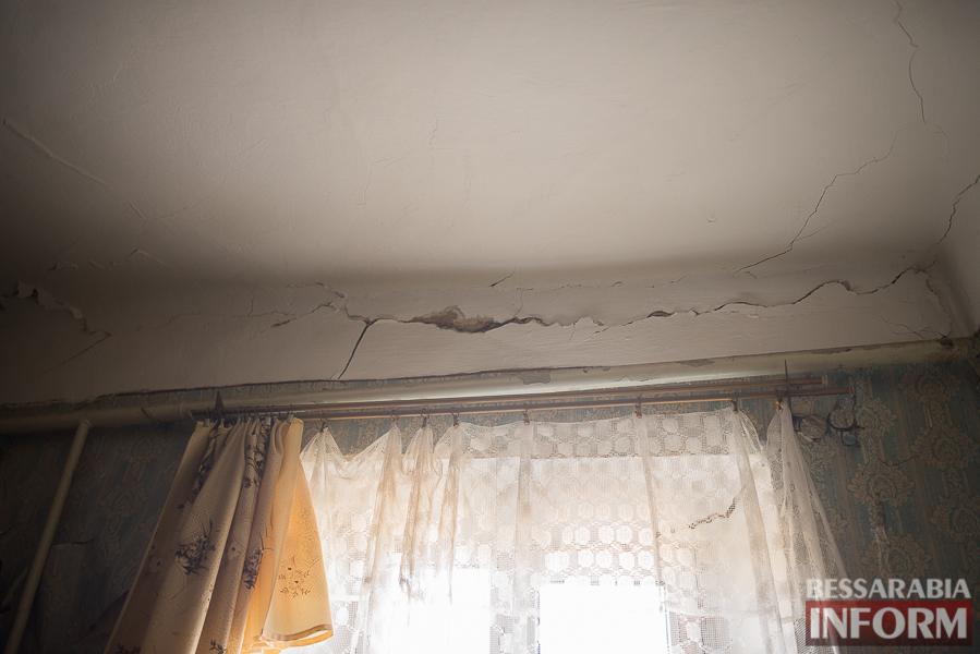 SME_8017 Измаил: аварийный дом в центре города может заживо похоронить двух пенсионеров