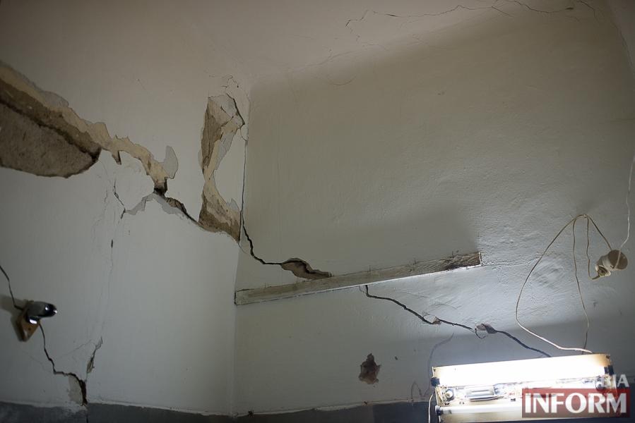 SME_8022 Измаил: аварийный дом в центре города может заживо похоронить двух пенсионеров