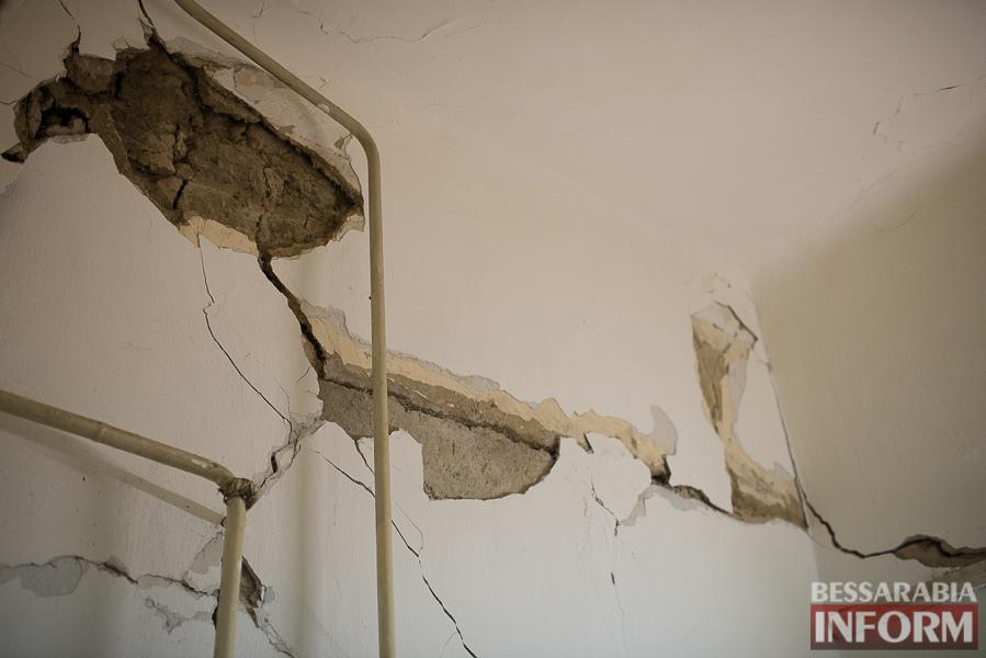 SME_8023 Измаил: аварийный дом в центре города может заживо похоронить двух пенсионеров