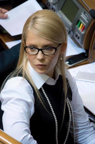 a040a1d3e125c6f4dc6b5d83ee81419f Юлия Тимошенко сменила имидж (фото)
