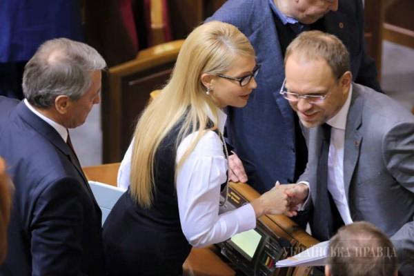 b9f98a5101d9b522c1386ab107879b4e Юлия Тимошенко сменила имидж (фото)