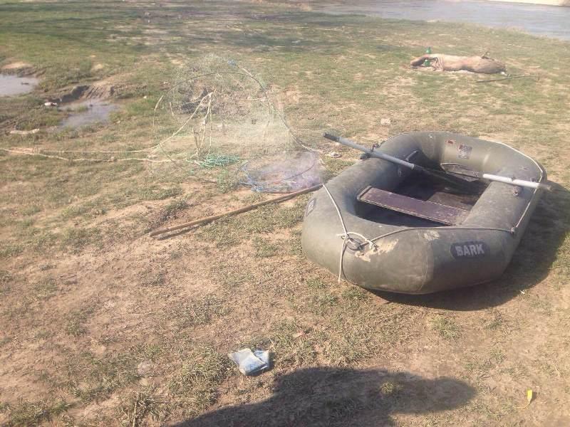 Измаильские пограничники задержали браконьеров (фото)