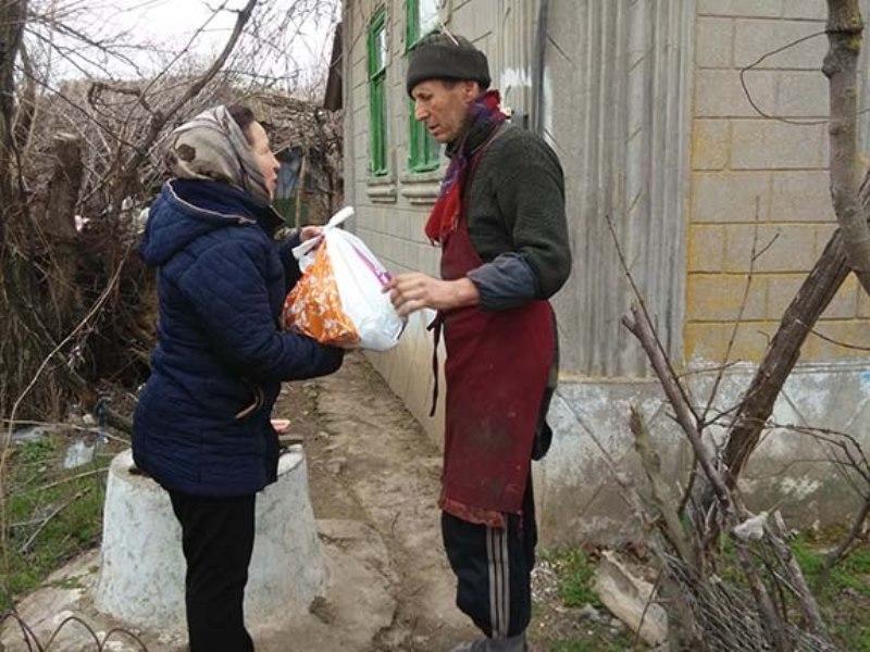 IMG_2016-02-27_111720 В Болградском районе раздавали гуманитарную помощь из Болгарии (фото)