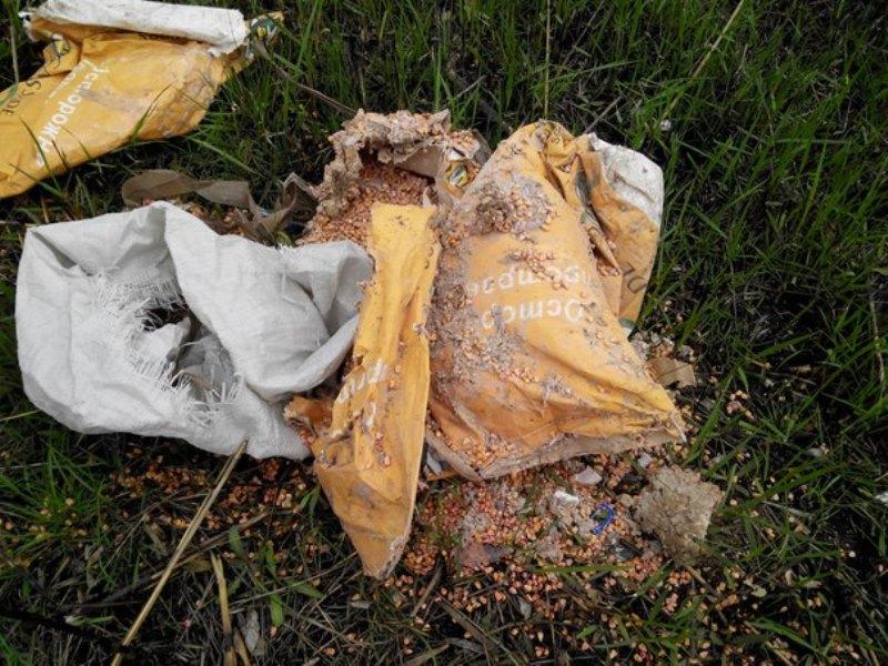 JVqcF43ySh8 Измаильчане обнаружили в плавнях Лебяжьего озера килограммы отравы (фото)