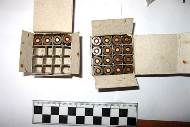 Эхо войны - аккерманец хранил дома боеприпасы из зоны АТО (фото)