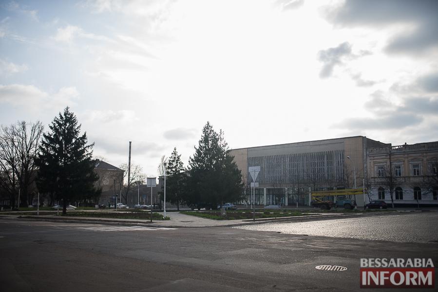 SME_0278 В Измаиле проходит реконструкция Школьного сквера (фото)