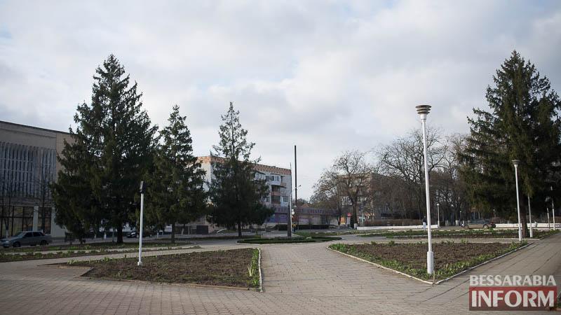 SME_0289 В Измаиле проходит реконструкция Школьного сквера (фото)