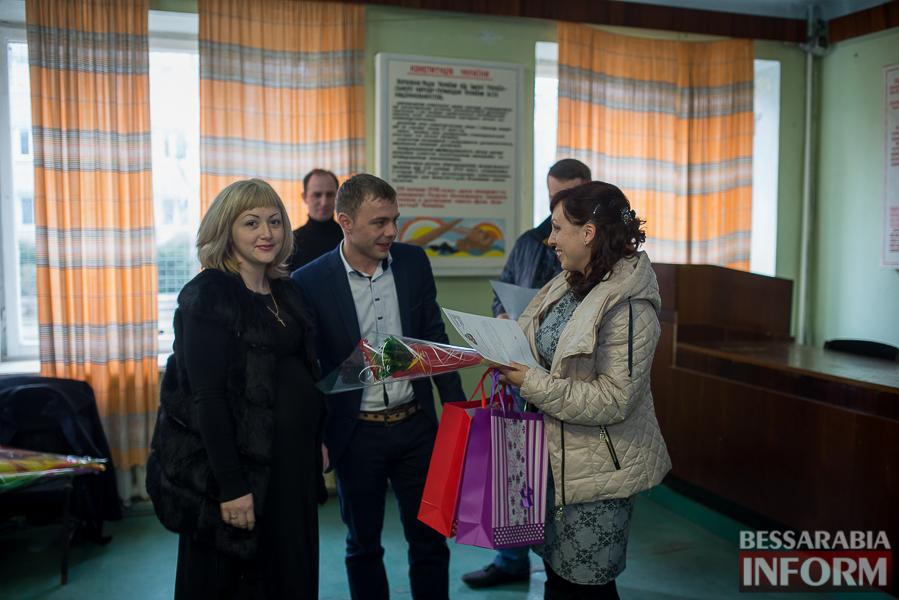 SME_8991 Измаил: жены участников АТО получили награды и подарки (фото)