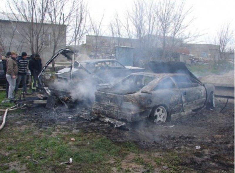 """Zj6O2EzTCec В Измаиле сгорел """"домик на колесах"""" и легковой автомобиль  (фото)"""