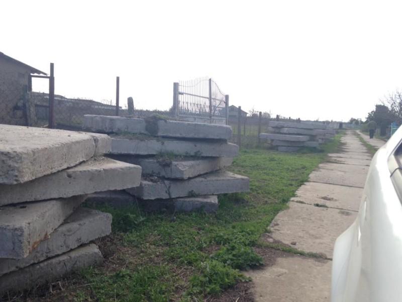 Водоотводы на старообрядческом кладбище в Килие приводят в порядок (фото)