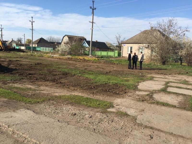 В Килии строят новую детскую площадку (фото)