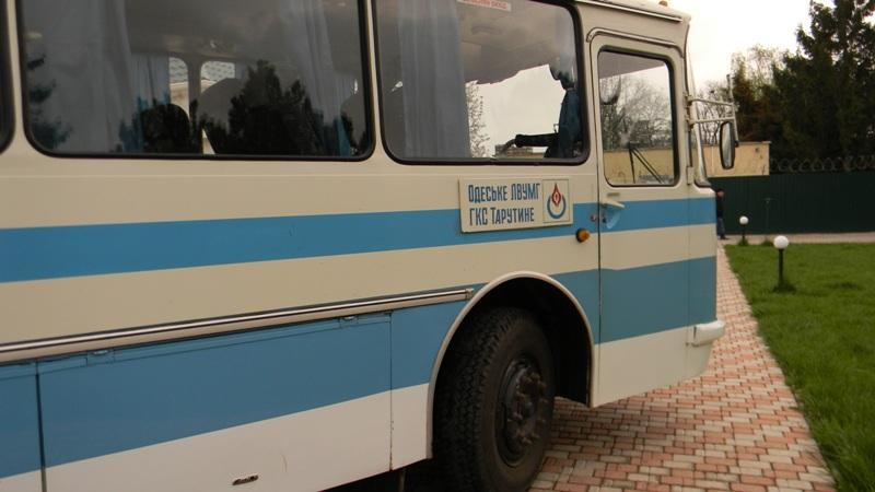 DSCN1843 Измаильскому пограничному отряду подарили автобус (фото)