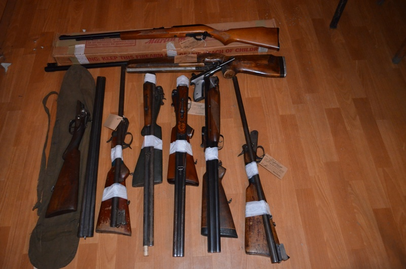 DSC_0172 Измаильские правоохранители подвели результаты месячника добровольной сдачи оружия (фото)
