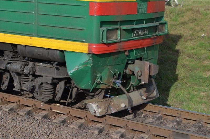 Измаильский р-н: в Сафьянах автомобиль попал под поезд (фото)
