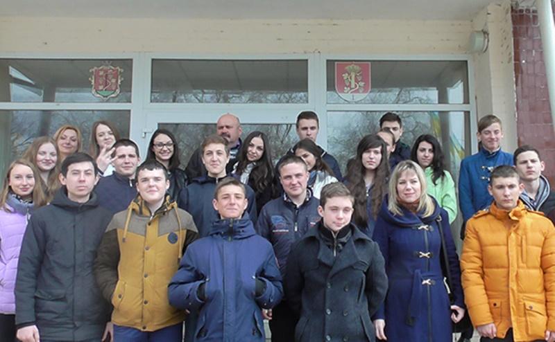 Белгород-Днестровский: школьникам провели экскурсию по отделению полиции (фото)