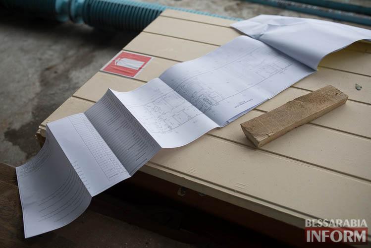 Измаильский морвокзал меняет облик - капремонт в самом разгаре (фоторепортаж)