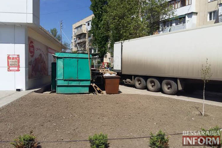 """Омраченное открытие - новая """"Таврия В"""" создает неудобства жителям одного из спальных районов Измаила (фото)"""