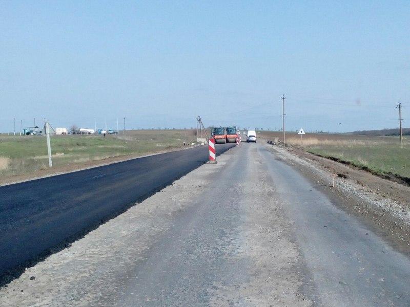UD0QR4TeaCg Ремонт трассы Одесса-Рени в районе села Монаши подходит к концу (фото)