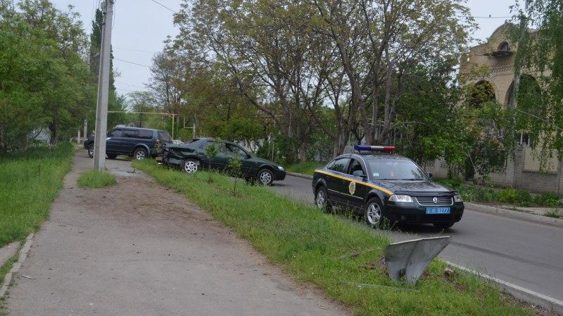 В Измаиле не поделили дорогу Toyota и Mercedes-Benz (фото)