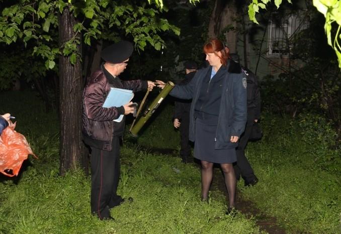 В Одессе обстреляли из гранатомета здание банка
