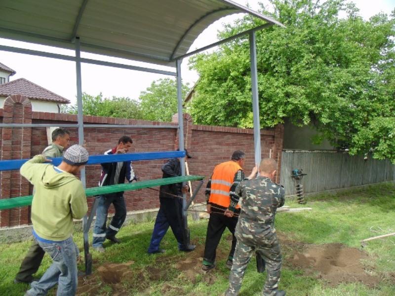 07 Измаильский р-н: в селе Озерное установили новые автобусные остановки (фото)