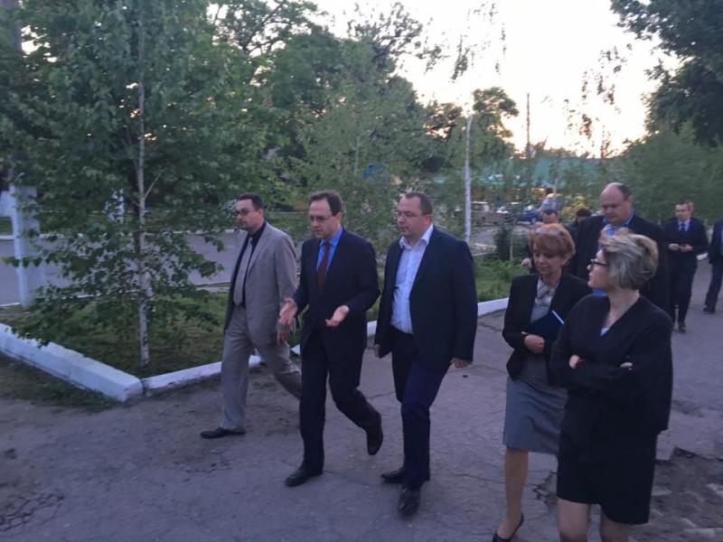 Румынская делегация посетила Измаил и Килию (ФОТО)