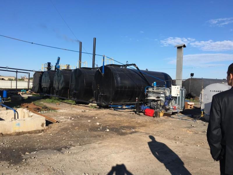Новый завод в Килийском районе готов к производству асфальта (ФОТО)