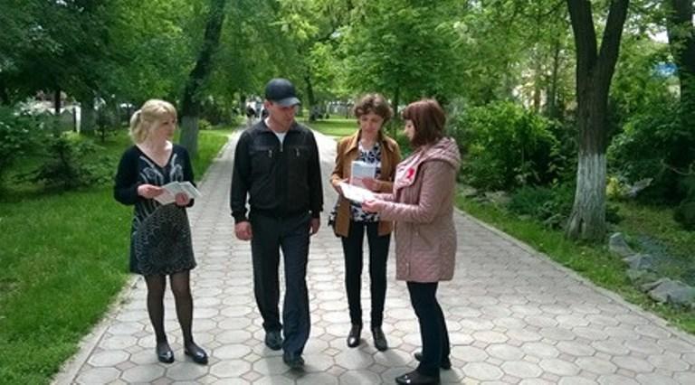 813e2dcb68024dde6ad5a24143cefefc День памяти жертв СПИДа в Болграде (фото)