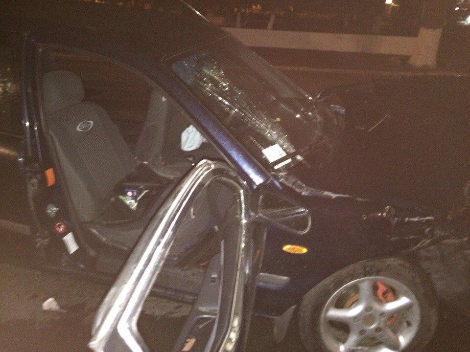 A3-opyVSnJI Ночное ДТП в Измаиле: Mazda vs Audi (фото)