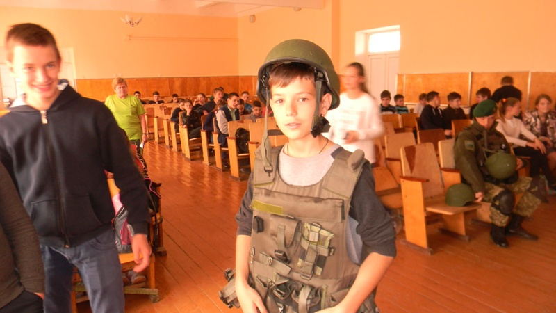 Измаильские пограничники провели у школьников урок мужества (фото)