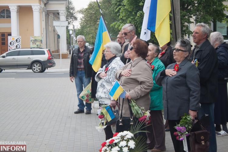 IMG_1193 Измаильские патриоты почтили память жертв Второй мировой войны (фото)