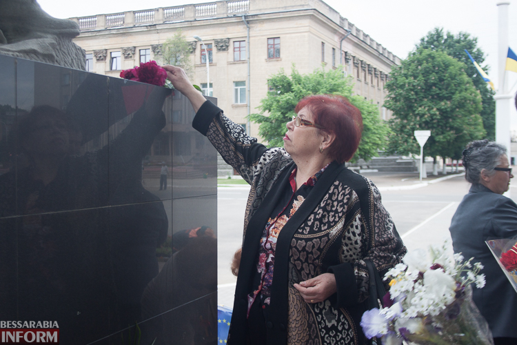 IMG_1225 Измаильские патриоты почтили память жертв Второй мировой войны (фото)