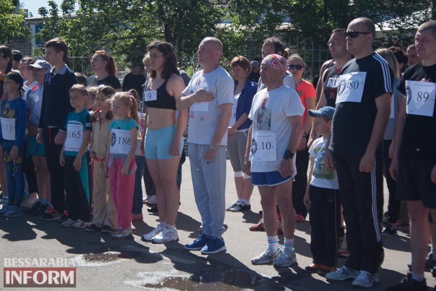 IMG_2232 В Измаиле прошел забег Памяти в честь героев-пограничников погибших в зоне АТО (фото)