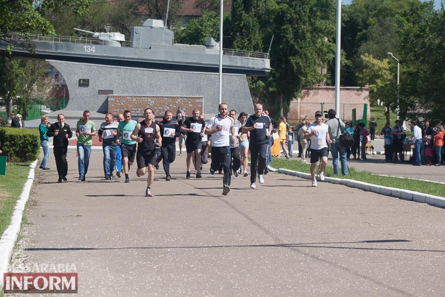 IMG_2333 В Измаиле прошел забег Памяти в честь героев-пограничников погибших в зоне АТО (фото)