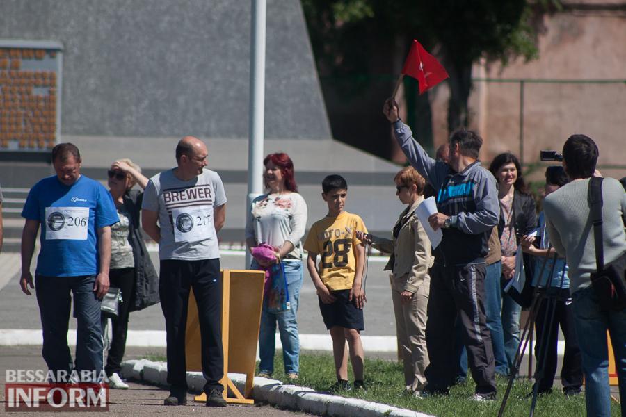 В Измаиле прошел забег Памяти в честь героев-пограничников погибших в зоне АТО (фото)