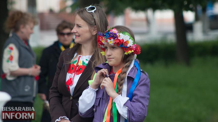 IMG_2570 Измаил: городской митинг ко Дню вышиванки омрачила плохая организация (фото)