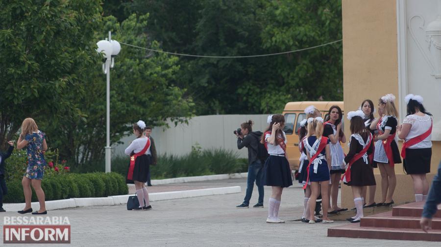 В Измаиле для школьников прозвучал последний звонок (ФОТО)