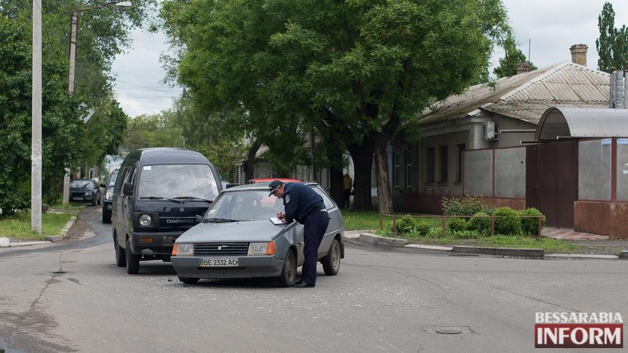 SME_4004 В Измаиле очередное ДТП из-за игнорирования знаков дорожного движения