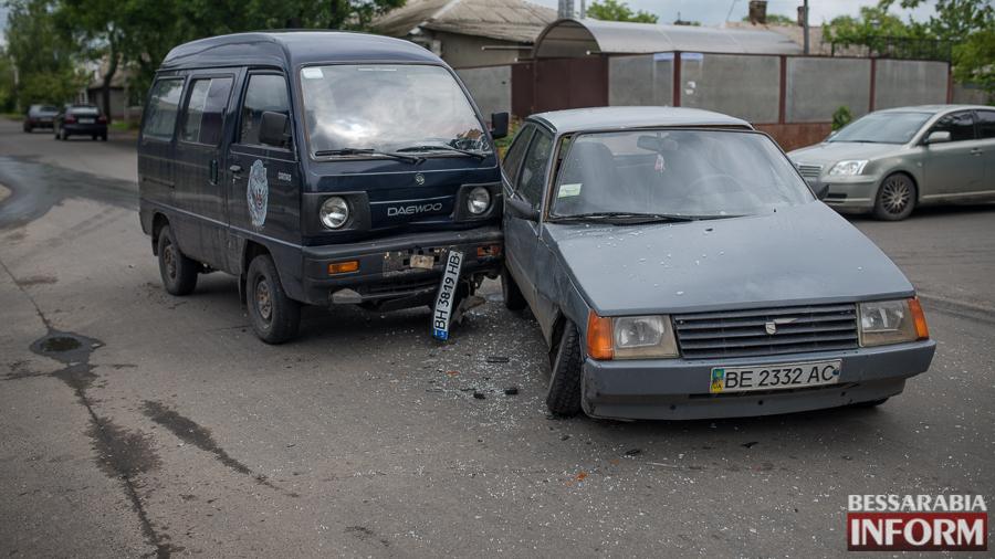 SME_4006 В Измаиле очередное ДТП из-за игнорирования знаков дорожного движения